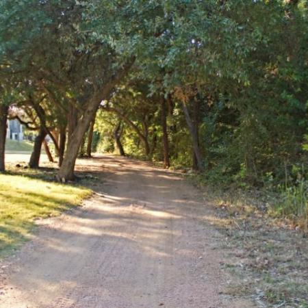 Walk path | Bike path | South Austin apartment complex