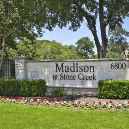 Entrance to Madison at Stone Creek