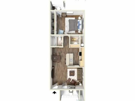 1D Floorplan