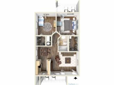 2E Floorplan