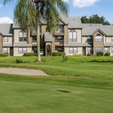 Melbourne FL apartments on golf course