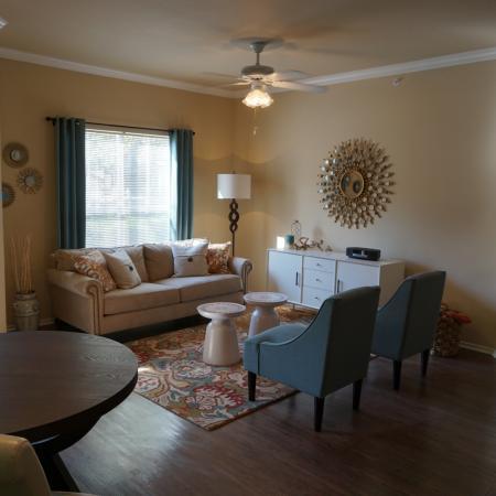 Northland at the Arboretum   apartment living room