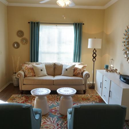 Living room | Northland at the Arboretum apartments