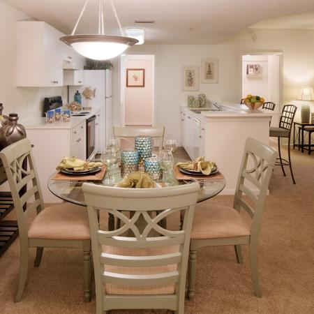 Dining room | Rentals at Monterra at Bonita Springs