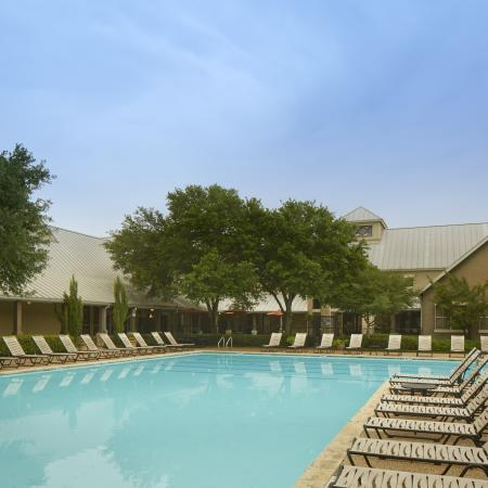 Apartment complex pool | south Austin