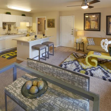 Open floor plan | Monterey Ranch apartments | Austin