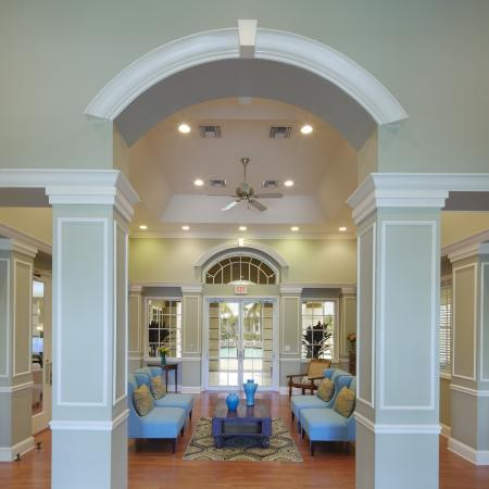 Promenade at Reflection Lakes clubhouse | Fort Myers apartments