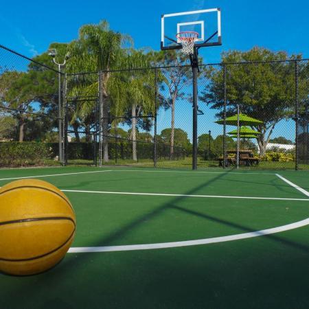 Lakeside at Greenboro basketball court