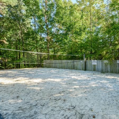 Sand Volleyball court | apartment amenity at Windemere