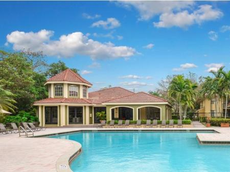 Coconut Creek apartments with pool