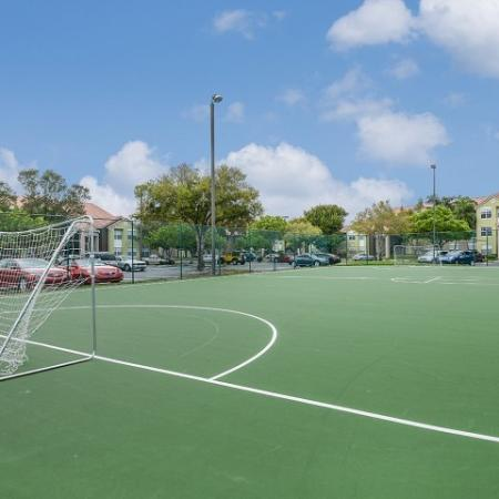 Royal St George apartment community sport court
