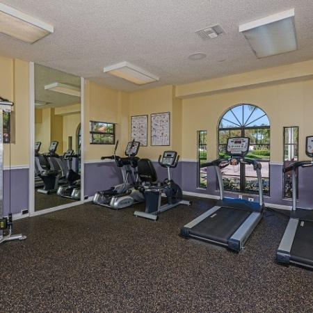 Village Place apartment gym cardio equipment