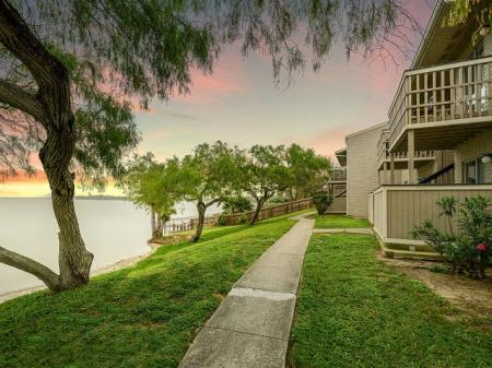Water front apartments in Corpus Christi