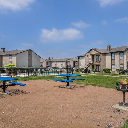 Gated apartments in Corpus Christi