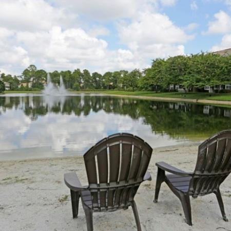 Fort Myers apartments | Lake front beach