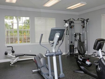 Apartment gym | Ashlar apartments