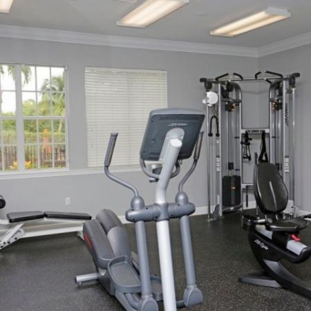 Apartment gym | Ashlar apartments