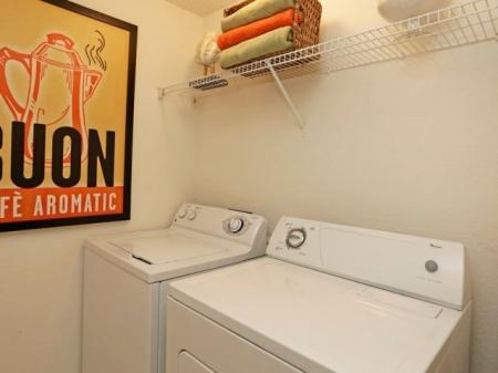 Washer and dryer | Fort Myers apartment homes | Ashlar apartments