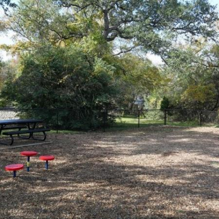 Dog park agility equipment | Madison at Stone Creekapartments in Austin