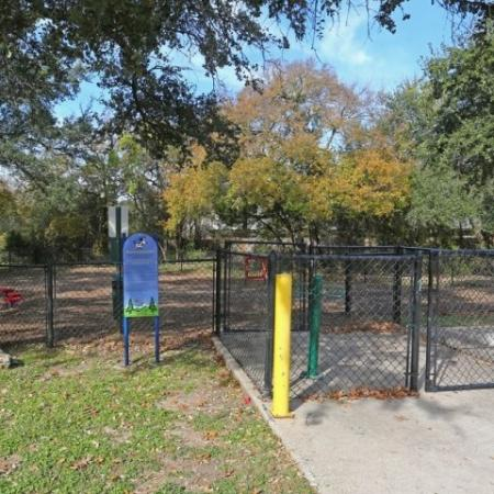 Dog park | Madison at Stone Creek | pet friendly apartment community in Austin