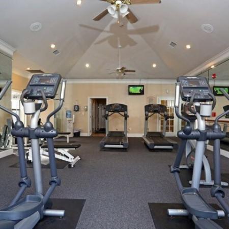 Fitness center | Cardio equipment | Austin apartments