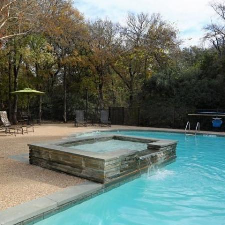 Apartment community pool | Austin TX