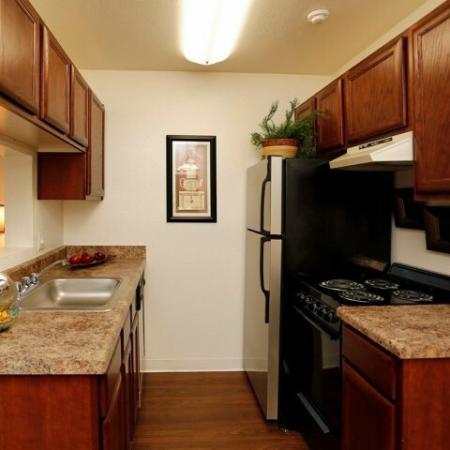 Kitchen | 1 bedroom rental | Promontory AZ