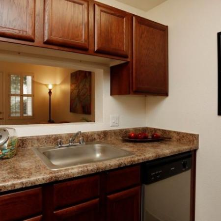 1 bedroom apartment kitchen | Promontory | Tucson AZ