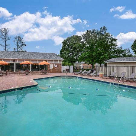 Apartment complex pool | Randolph Park, Charlotte NC