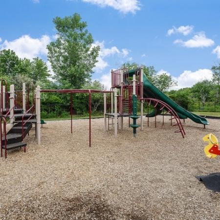 Fountainhead apartments with playground