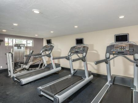 Apartment gym in Westborough MA