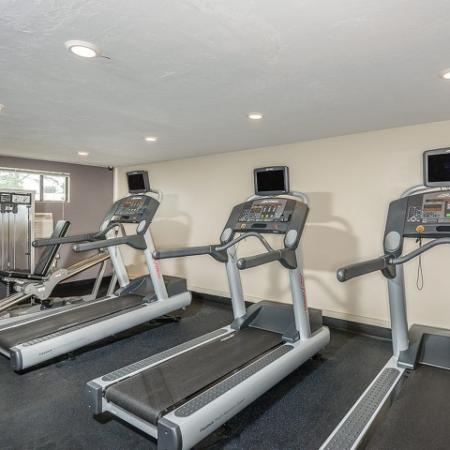 Apartment gym in Westborough MA