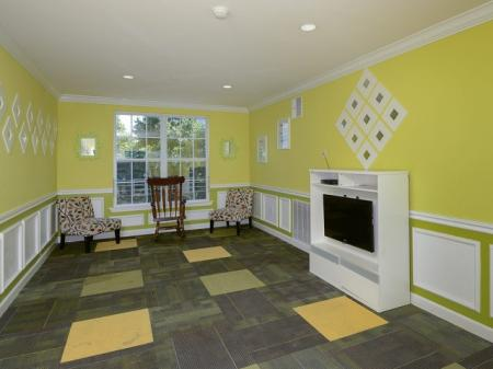 Clubhouse at Highlands at Faxon Woods apartments