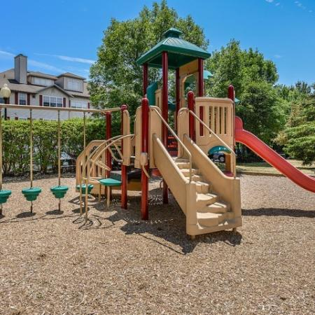 Community playground | Residences at Westborough apartment community