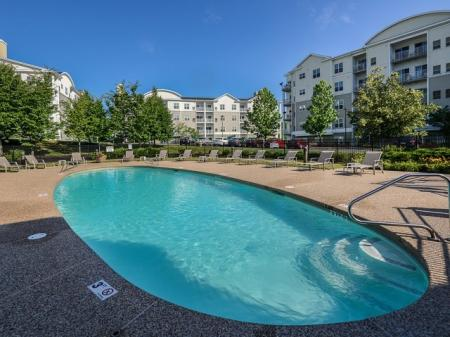 Endicott Green apartments with pool