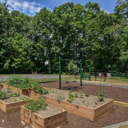 Community garden | Residences at Westborough