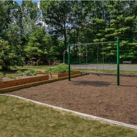 Community playground and garden | westborough rentals