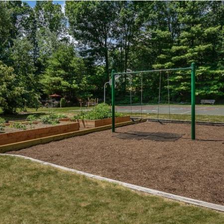 Community playground and garden | westborough rentals