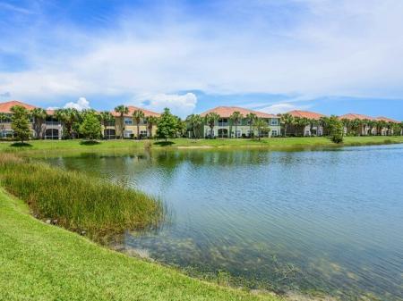 Water views at Bay Breeze Villas