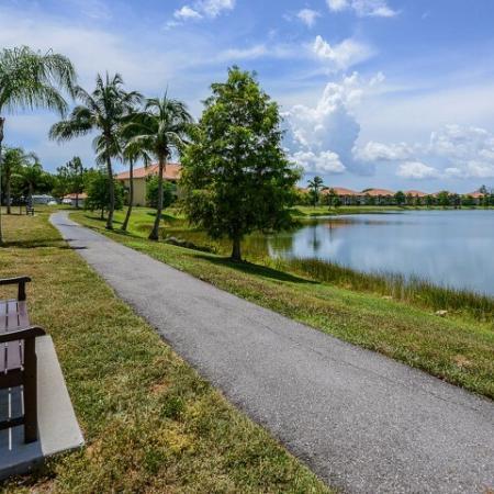 Jogging trail | Bay Breeze apartments