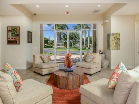Clubhouse at Bay Breeze Villas apartments