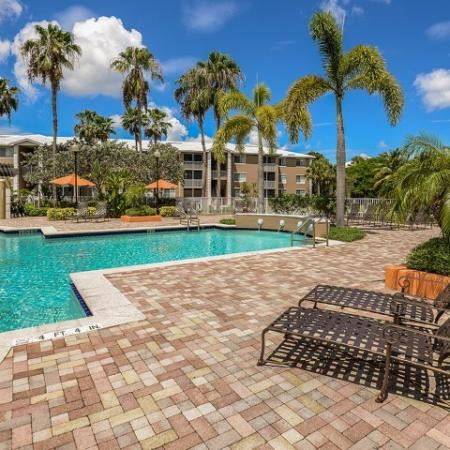 Apartment complex pool | Promenade at Reflection Lakes in Fort Myers | Florida rentals