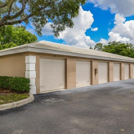 Garage parking | Promenade at Reflection Lakes parking | FL apartments