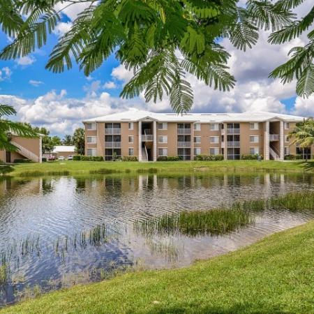 Water views | Fort Myers apartments | Promenade at Reflection Lakes