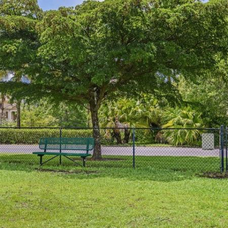 Dog Park | Promenade at Reflection Lakes | Pet friendly Fort Myers apartments