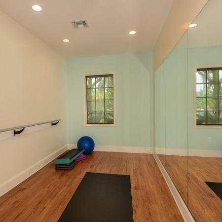 Dance studio | Apartment amenities | Promenade at Reflection Lakes | Fort Myers