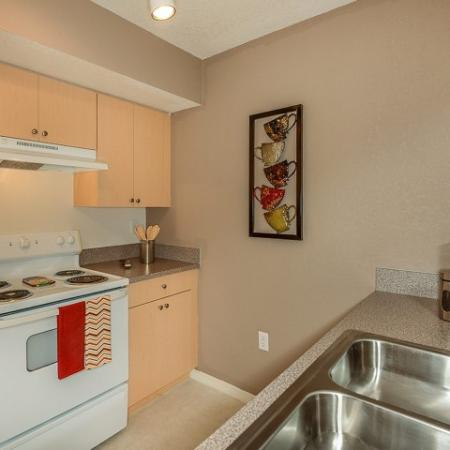 Kitchen | 1 bedroom apartment | Fort Myers apartments