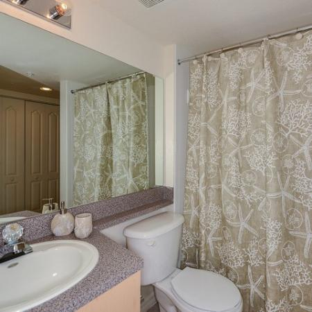bathroom | 3 bedroom rental | Promenade at Reflection Lakes