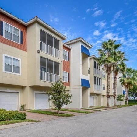 Garage parking | Bradenton apartments | Yacht Club at Heritage Harbor