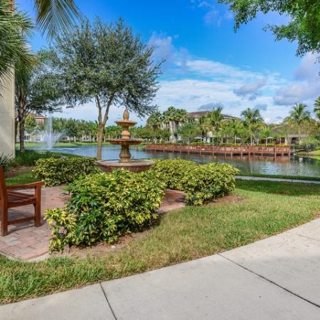 Walking path | Yacht Club at Heritage Harbor | apartment community
